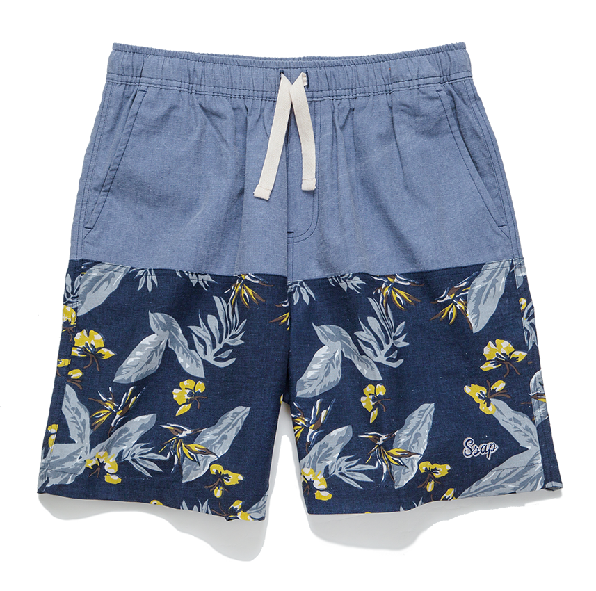 KATA BEACH SHORTS (BLUE)