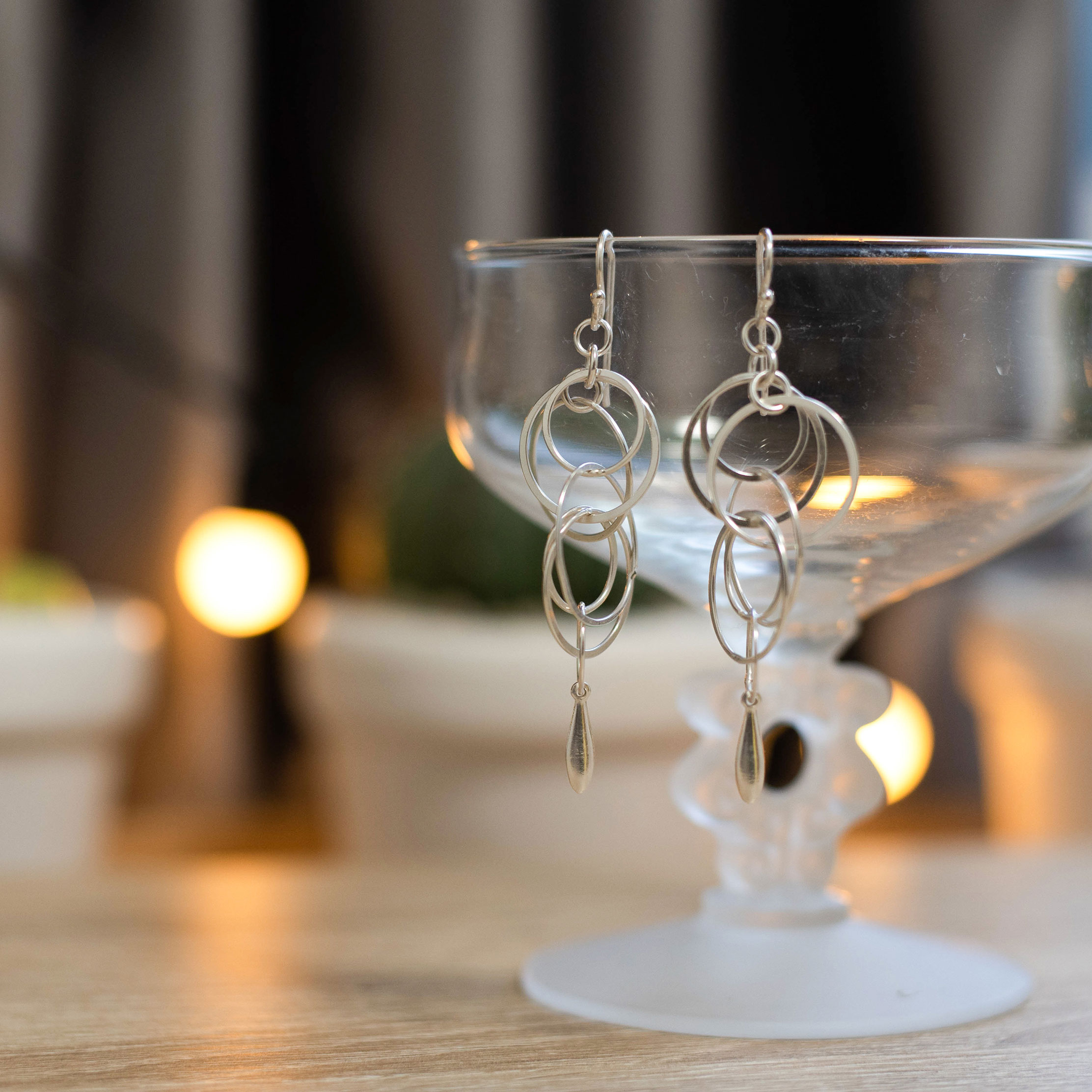 Challenge collection #3 : 92.5 Sterling Silver Earring