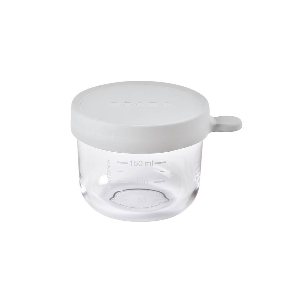 กระปุกแก้วเก็บอาหาร ฝาสูญญากาศ 150 ml Conservation Glass Jar - LIGHT GREY
