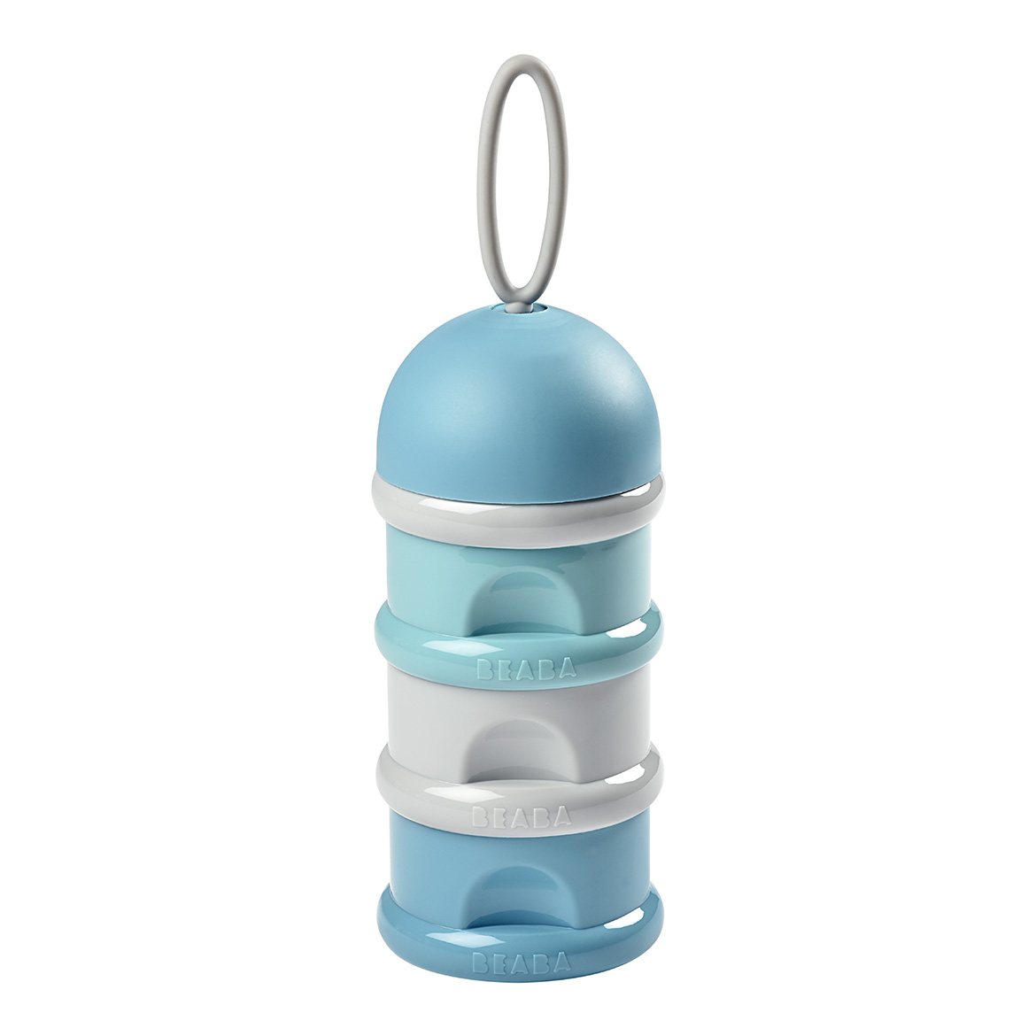 Stacked formula milk container - LIGHT BLUE