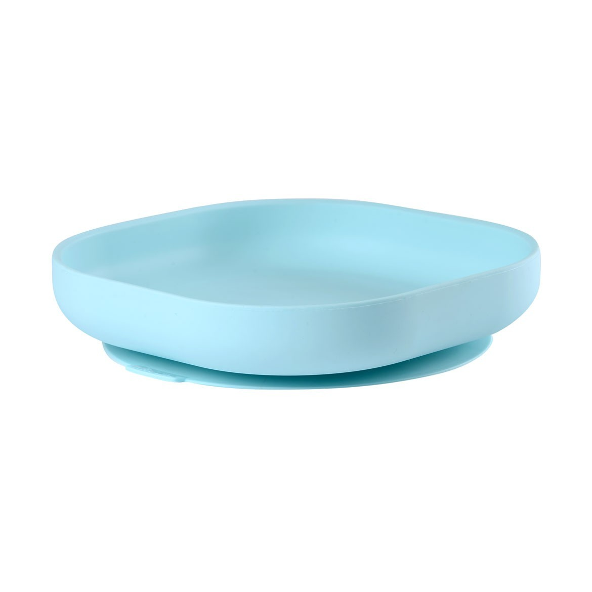 Silicone suction plate - LIGHT BLUE