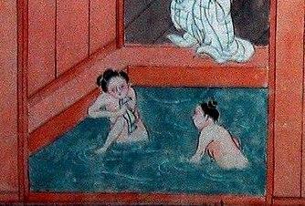 ห้องอาบน้ำสาธารณะของญี่ปุ่น เริ่มต้นแห่งแรกที่วัด