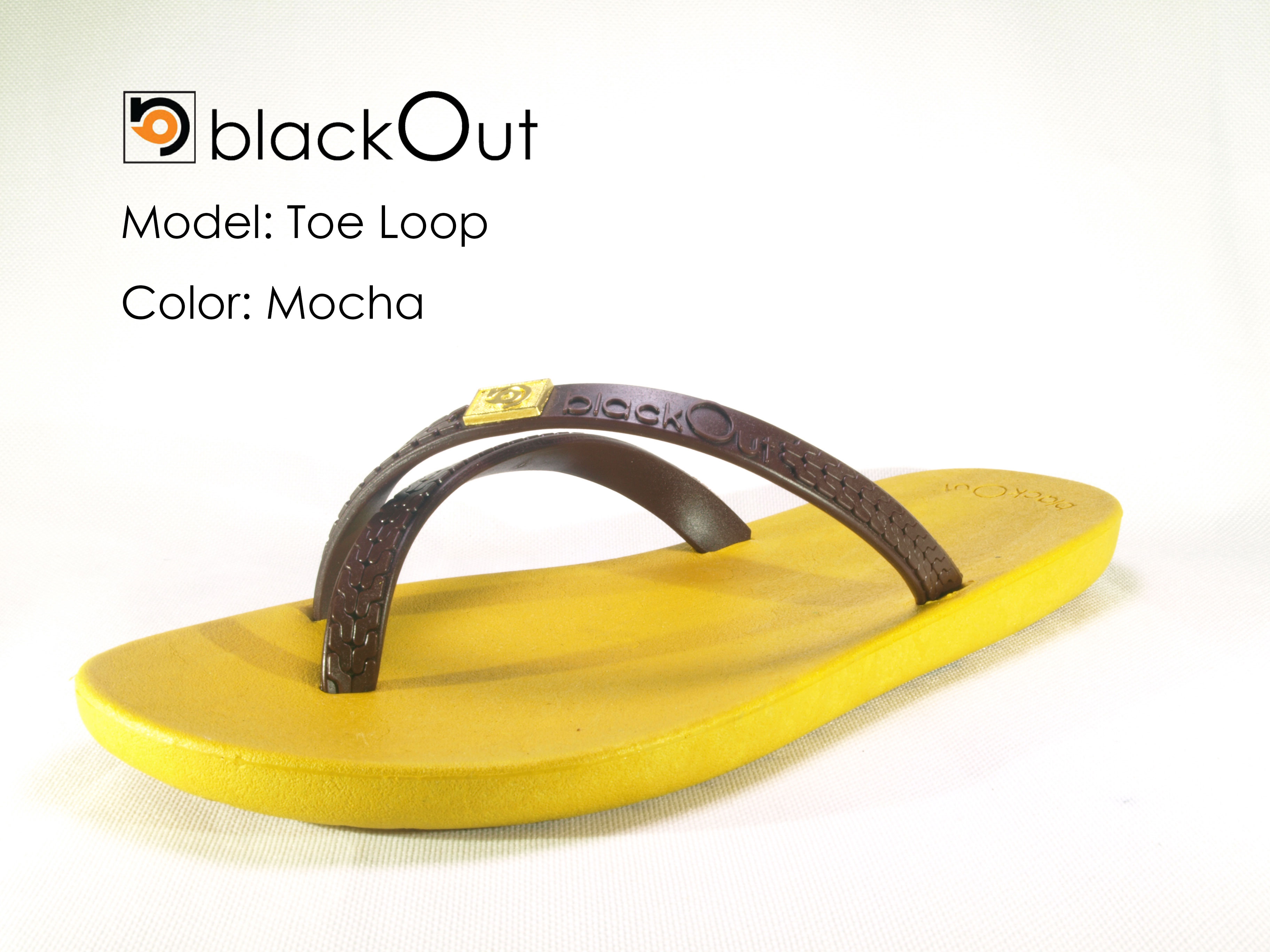 TOELOOP-blackOut Brown/Mocha