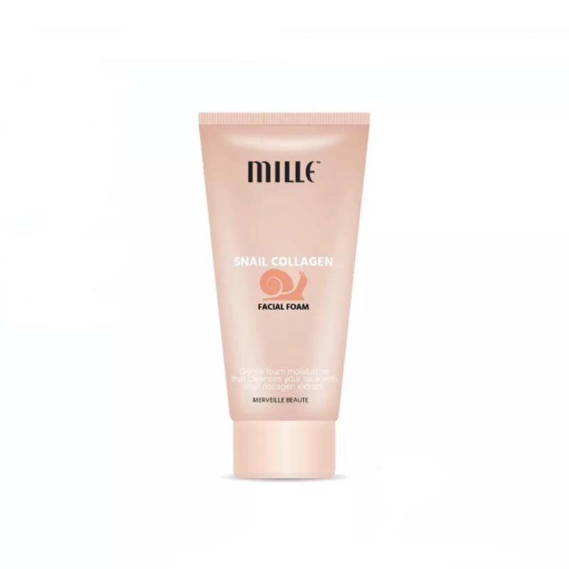 MILLE SNAIL COLLAGEN FACIAL FOAM 80G.