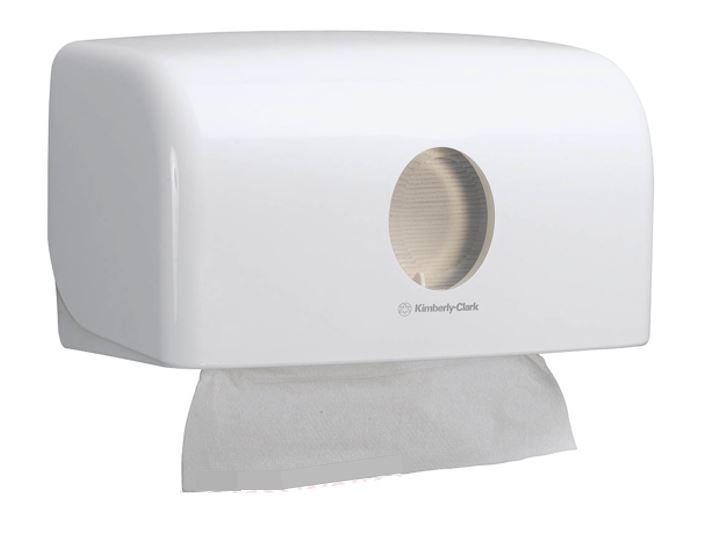 69560 AQUARIUS* Single Clip Folded Hand Towel Disperser