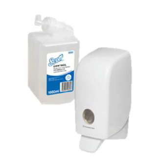 6592 Scott Alcohol Foam Hand Sanitizer 1.0L
