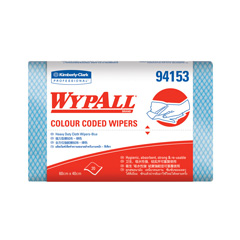 94153 WYPALL* Colour Coded Regular Duty Wipers (Blue)