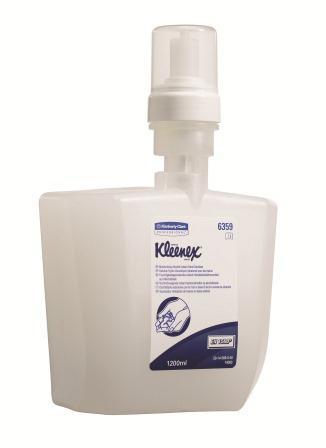 91590 สบู่โฟมสูตรไม่ต้องใช้น้ำ KLEENEX Luxury Foam Moisturising Instant Skin Cleanser