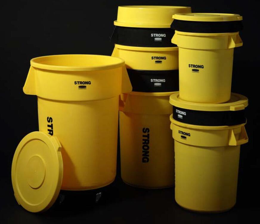 ถังขยะ120ลิตร พร้อมฐานล้อ รุ่น HC 305