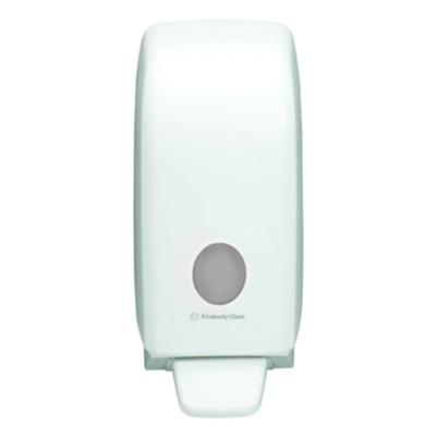 69480 เครื่องจ่ายสบู่เหลว AQUARIUS* Hand Cleanser Dispenser - Cassette / White / 1 Litre