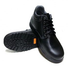 รองเท้านิรภัยหุ้มข้อ หนังแท้อัคลายฟอกนิ่ม พื้นNBR รุ่น S-1309DN TIS 523-2554