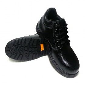 รองเท้านิรภัยหุ้มข้อ หนังแท้อัดลาย พื้นNBR รุ่น S-1309TN TIS 523-2554