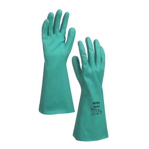 94447 JACKSON SAFETY* G80 Nitrile Chemical Resistant Gloves – Size L
