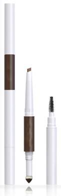 3in1 Auto Eyebrow, powder sponge and brow brush