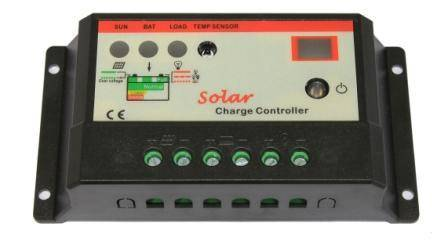 SOLAR CHARGE Controller,EPHC-ST 5A/12/24V,With power supply