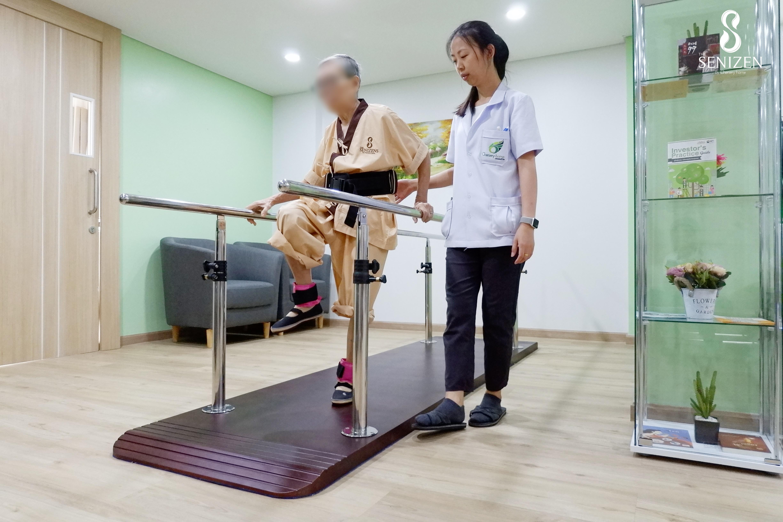 กายภาพบำบัดผู้สูงอายุ