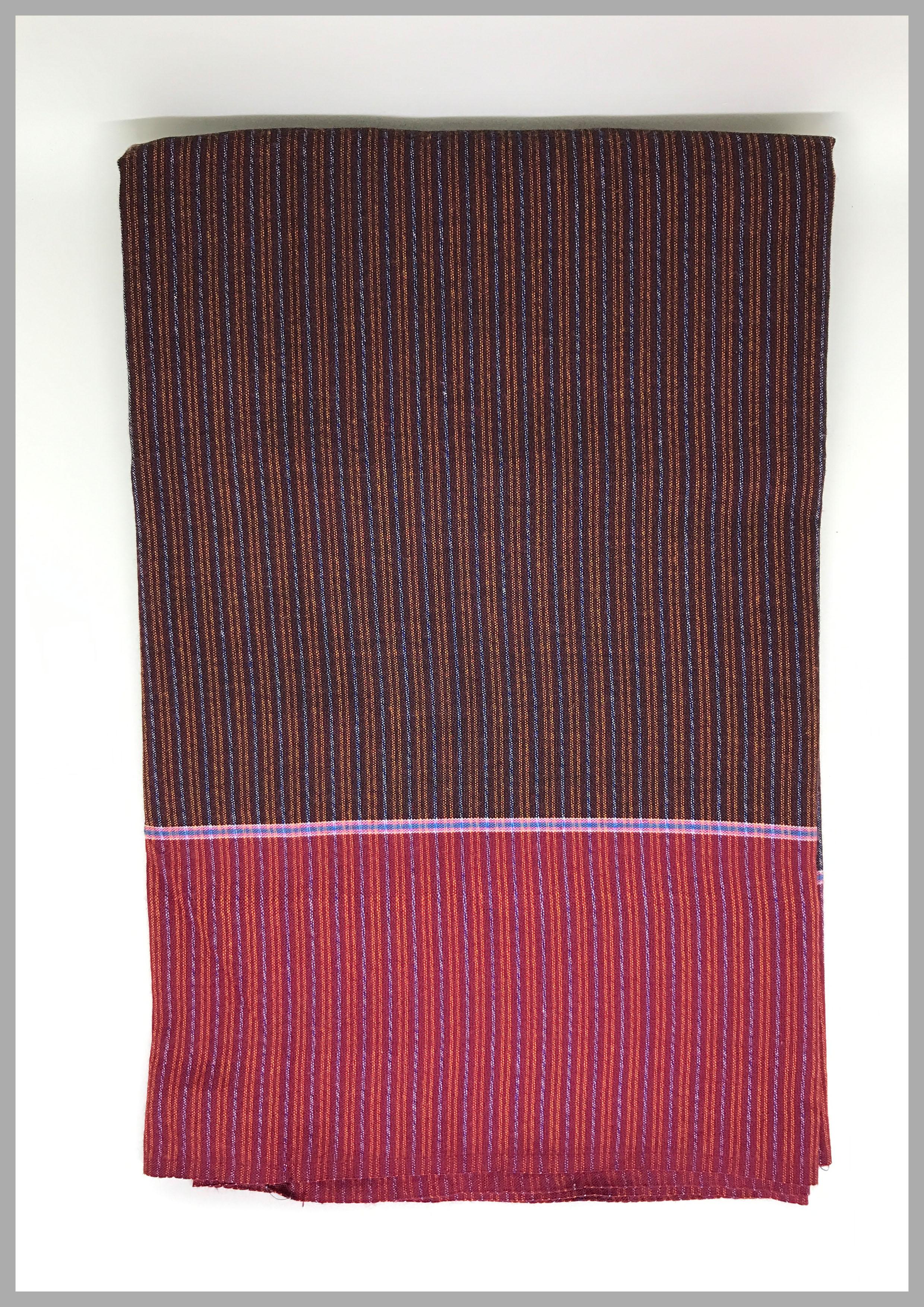 ผ้าถุงเขมรตีนแดง