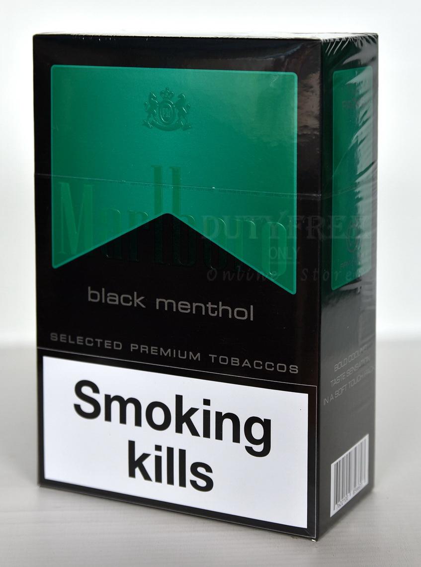 Marlboro Black Menthol 1 คอตตอน (Asiapacific Dutyfree)
