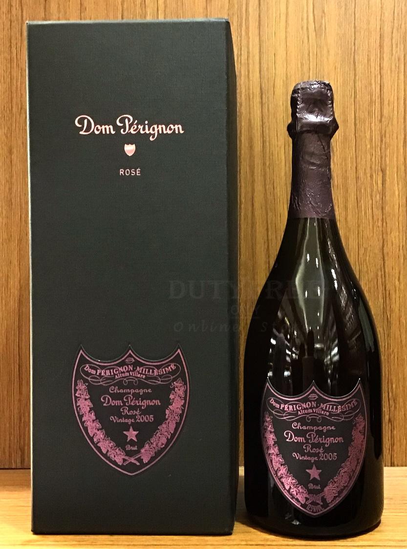 ลัง 6 ขวด Dom Perignon Rose Vintage 2005