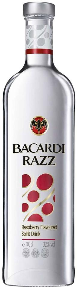 Bacardi Big Razz Rum 1Liter
