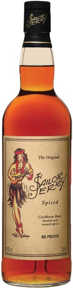 Sailor Jerry Spiced Navy Rum 1Liter