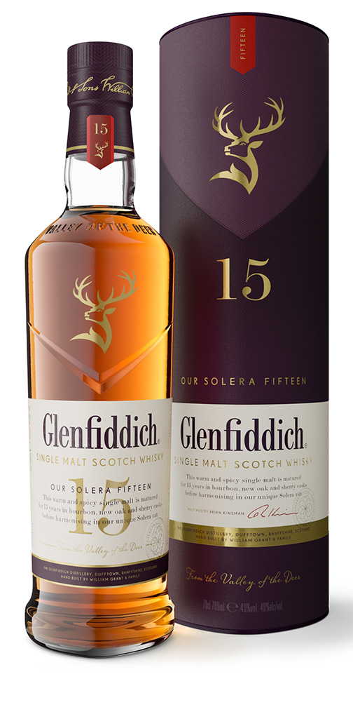 Glenfiddich 15 Year Old 75cl.