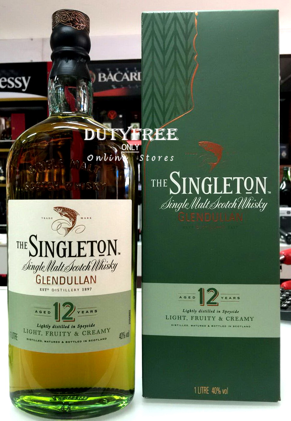 Singleton of Glendullan 12 Year Old 1Liter