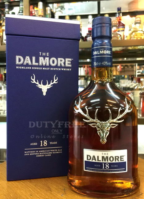 Dalmore 18 Year Old 70cl.