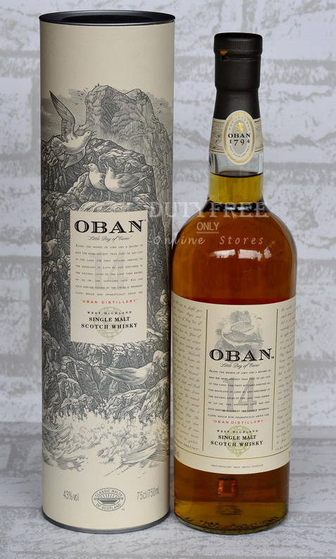 Oban 14 Year Old 75cl.