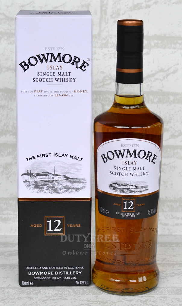 Bowmore 12 Year Old 700ml.