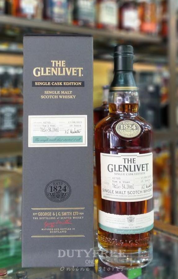 Glenlivet Inverblye 19 Year Old Single Cask Edition 70cl.