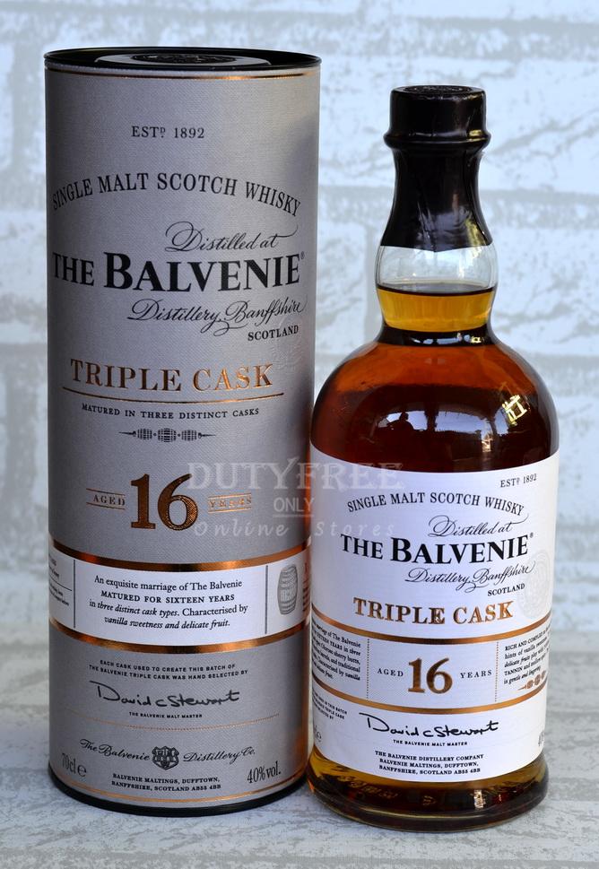 Balvenie 16 Year Old Triple Cask 70cl