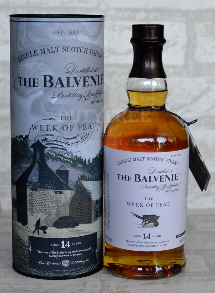 ลัง 12 ขวด Balvenie 14 Year Old The Week of Peat 700ml.