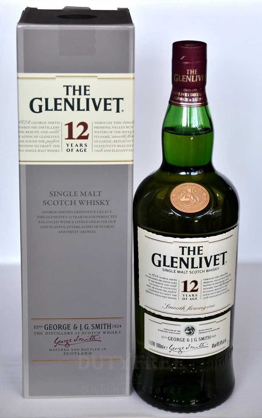 Glenlivet 12 Year Old 1Liter