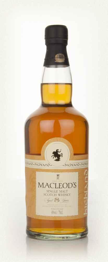 Macleod's Highland Single Malt 70cl.