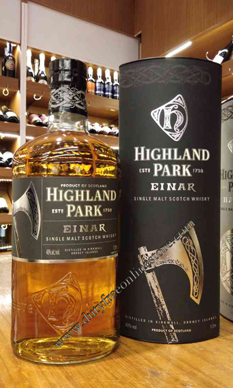 Highland Park Einar Single Malt Scotch Whisky 1 Liter