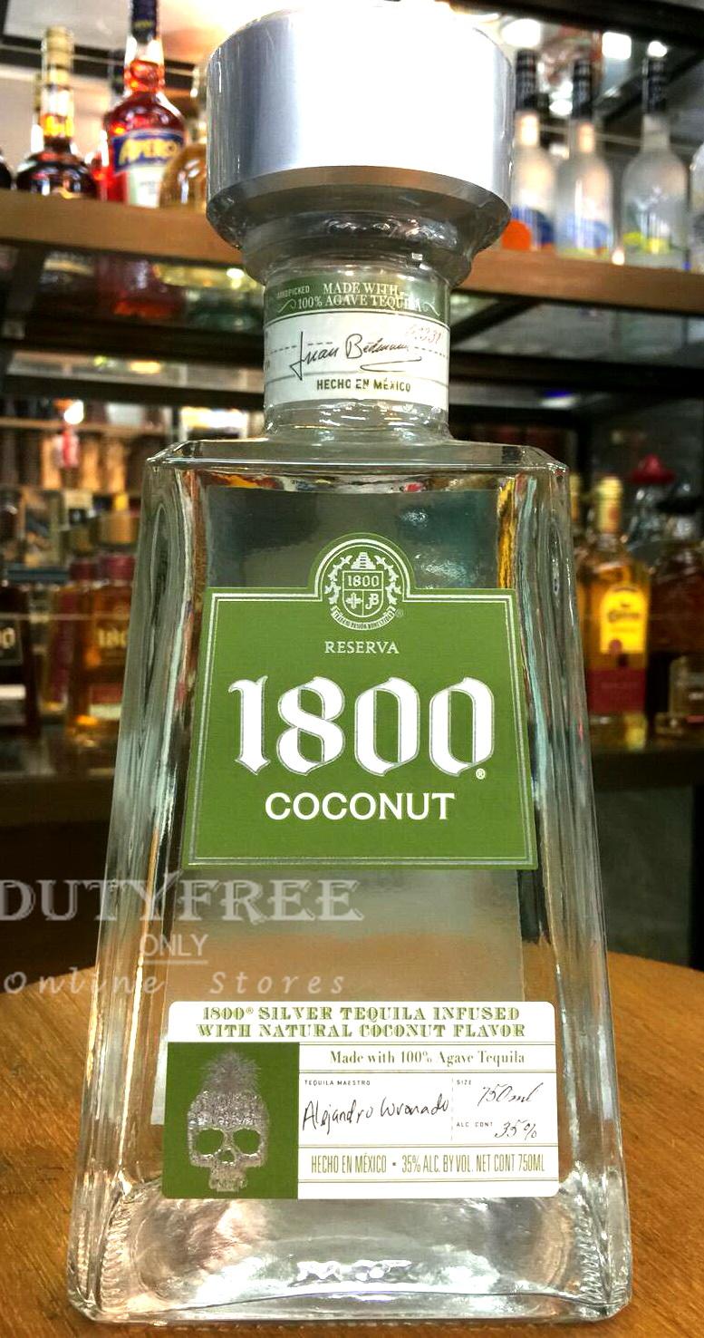 ลัง 12 ขวด Jose Cuervo 1800 Coconut 750ml.