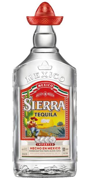 ลัง 12 ขวด Sierra Tequila Silver 70cl