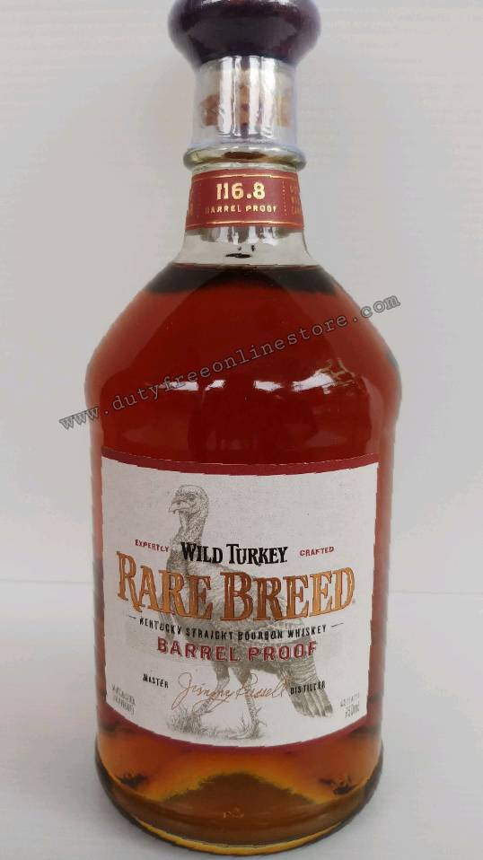 Wild Turkey Rare Breed Barrel Proof 750ml.