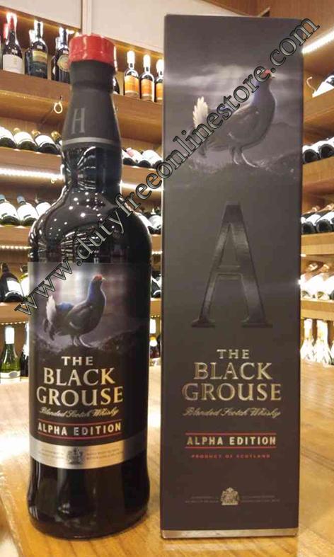 ลัง 12 ขวด Black Grouse Alpha Edition 70cl