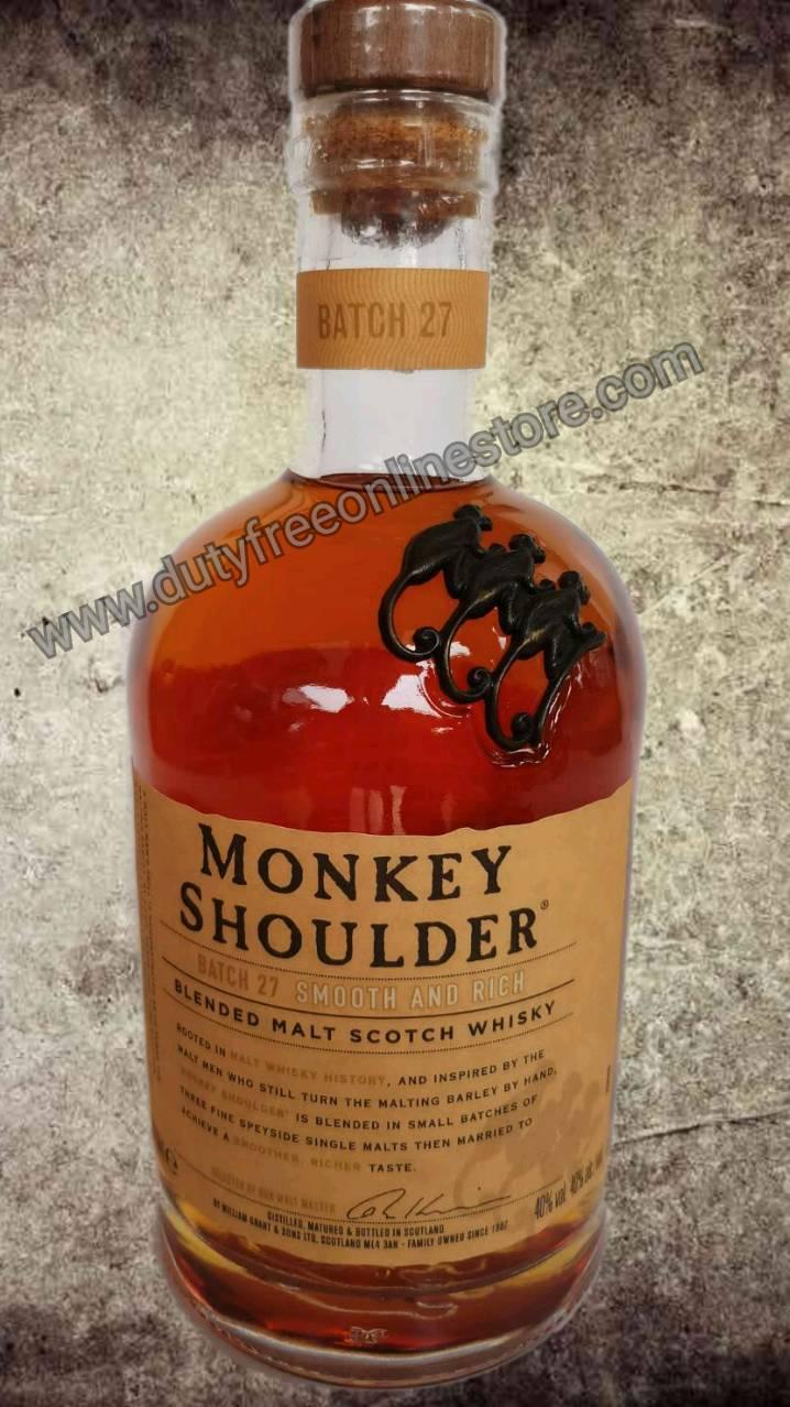 ลัง 12 ขวด Monkey Shoulder 70cl.