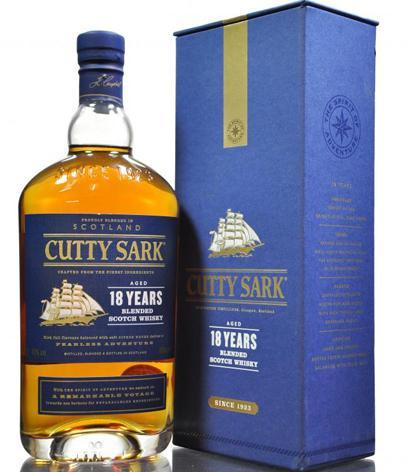 ลัง 12 ขวด Cutty Sark 18 Year Old 70cl.