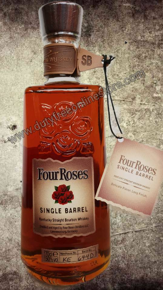 ลัง 12 ขวด Four Roses Single Barrel Bourbon 70cl.