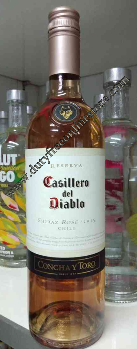 ลัง 12 ขวด Casillero Del Diablo Shiraz Rose 2015