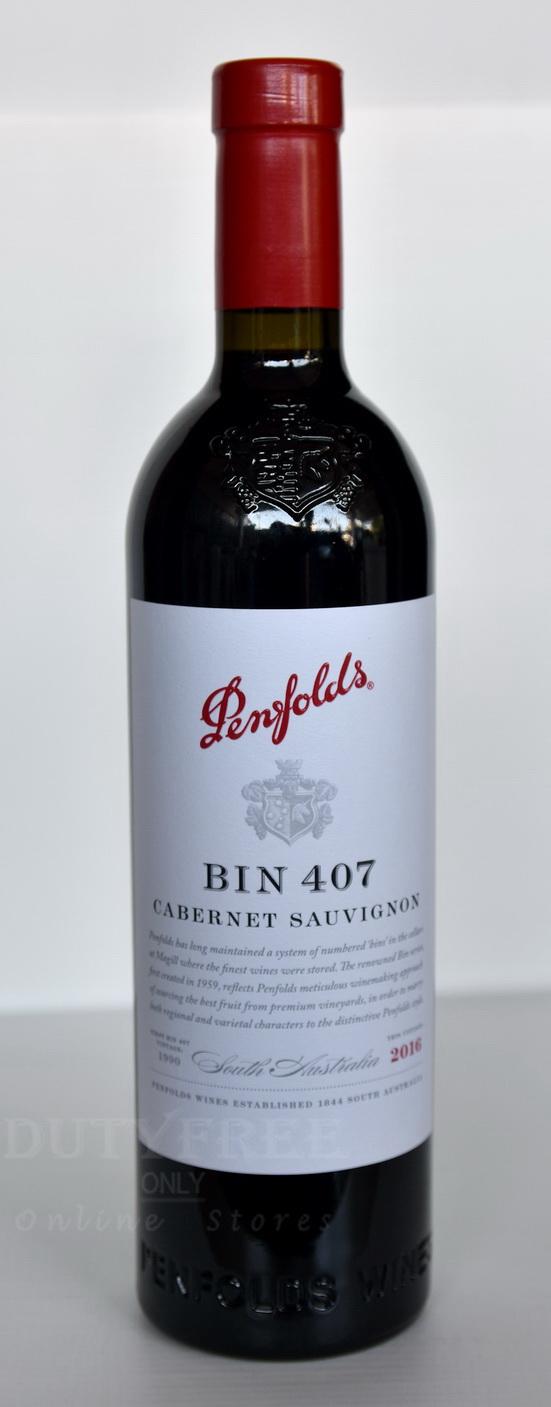 Penfolds Bin 407 Cabernet Sauvignon 2016 750ml
