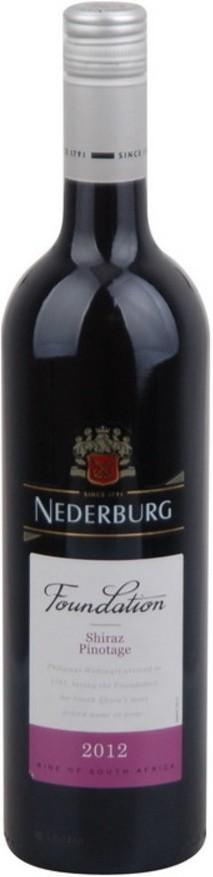 ลัง 12 ขวด Nederburg Foundation Shiraz Pinotage 2012