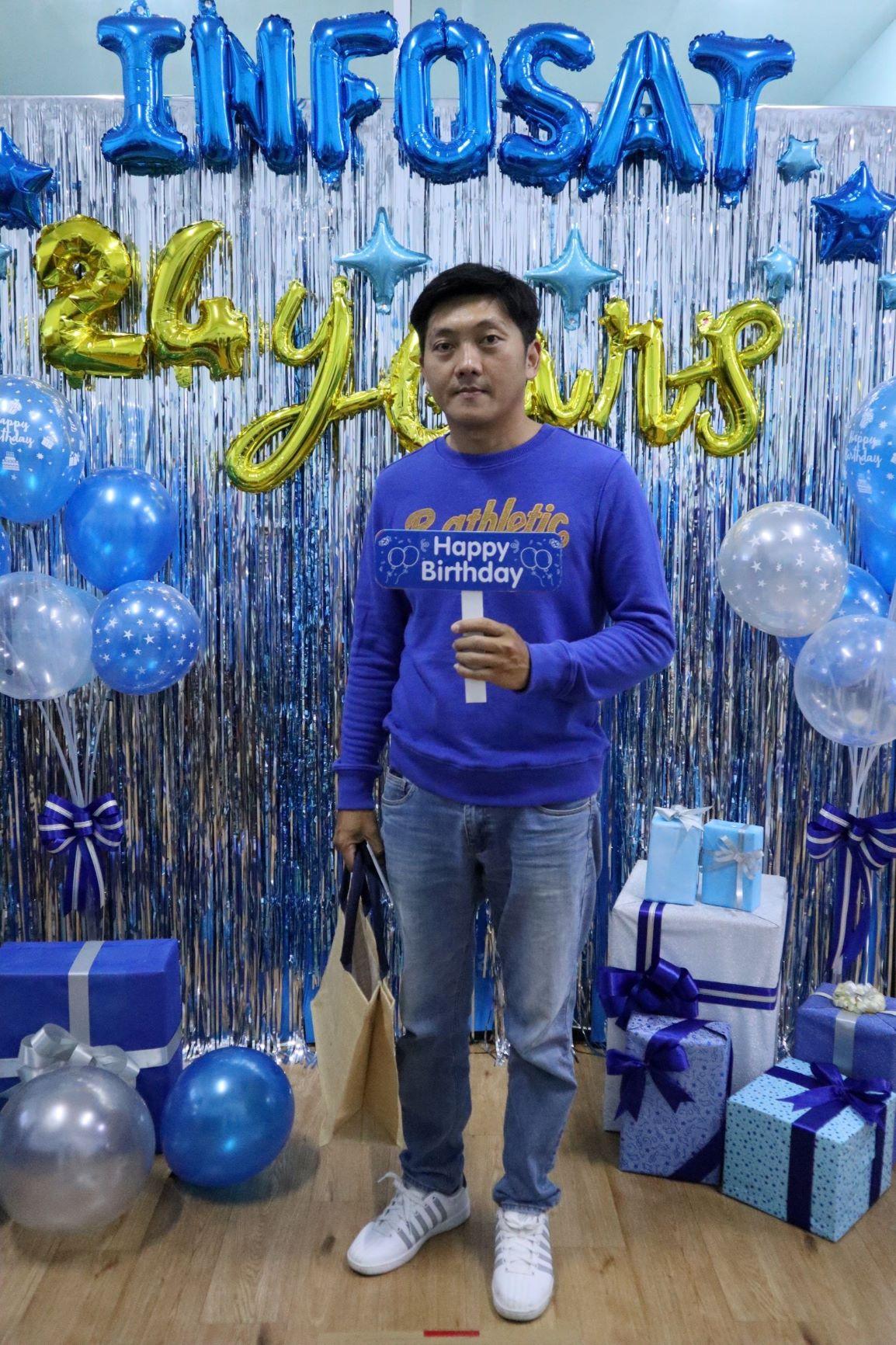 24th Birthday INFOSAT