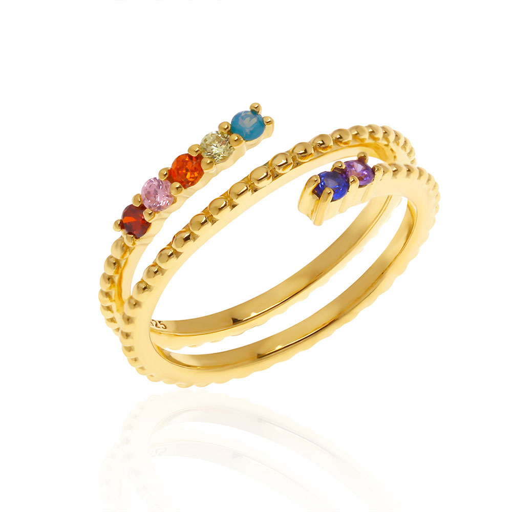 Harmonious Spectrum Ring