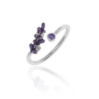Salvia Free Size Ring