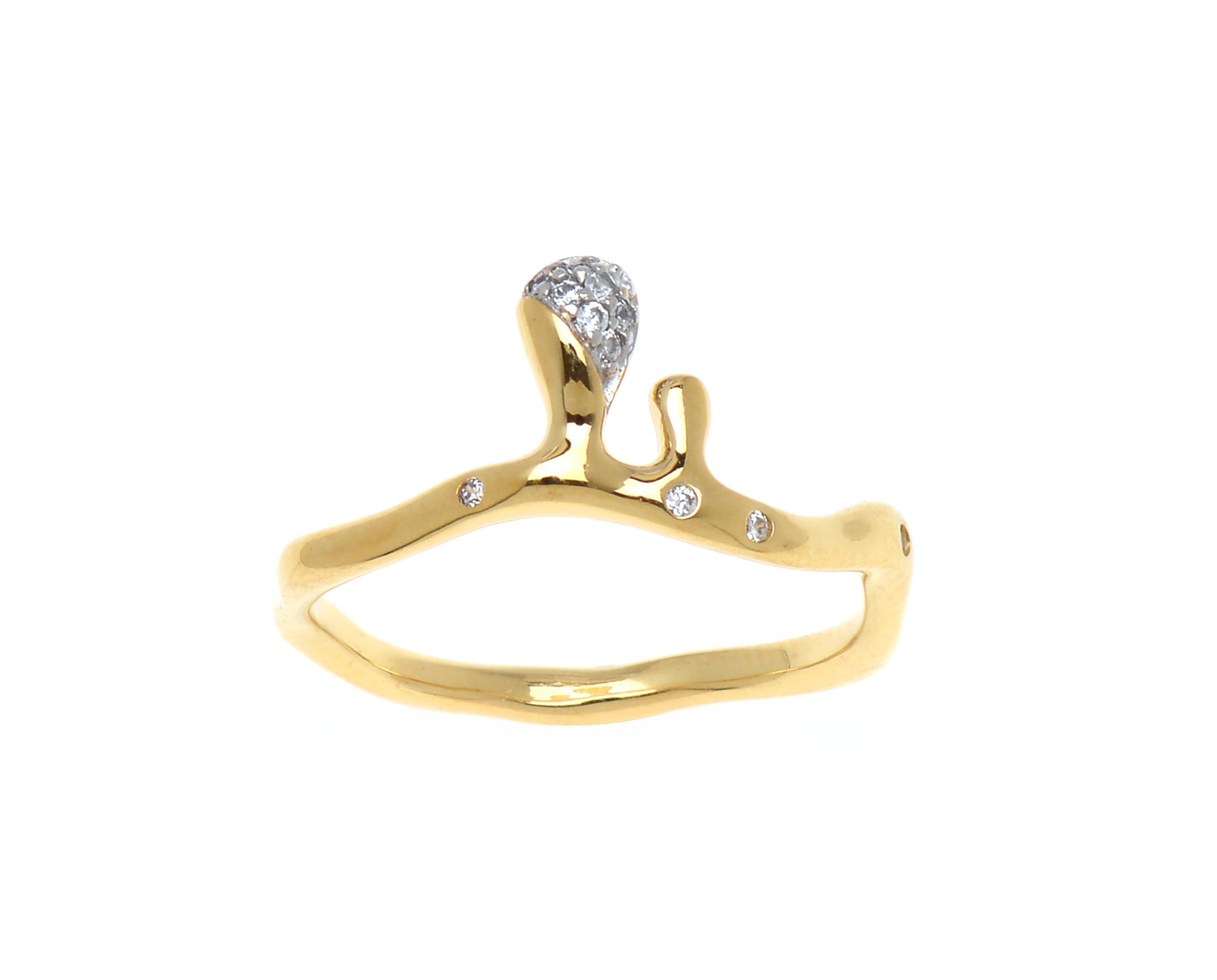Golden Honey Ring